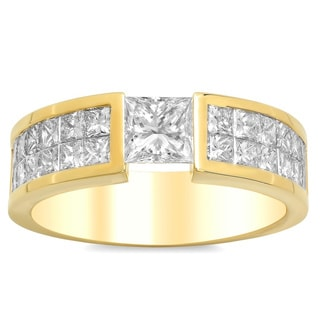 Artistry Collections 14k Yellow Gold 3 3/4-carat TDW Diamond Men's Ring