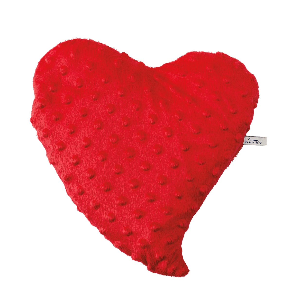 Bucky Products Spa Hot & Cold Therapy Heartwarmer Travel Pillow In Red