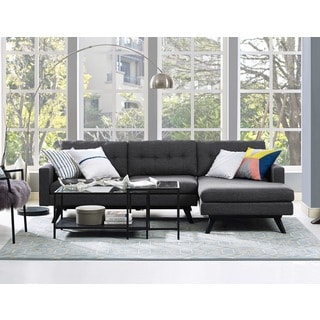 Blake RAF Grey Linen Sectional
