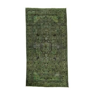 Persian Bakhtiar Overdyed Wide Runner Rug (5'5 x 10'1)