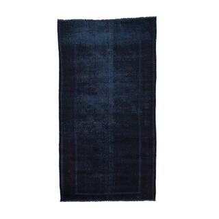 Pasargad Heriz Hand Knotted Rust Navy Wool Rug 4 X 8