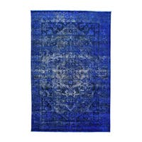 Persian Bakhtiar Over-dyed Hand-knotted Pure Wool Rug (6'9 x 10'4)