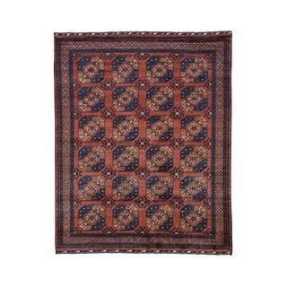 Afghan Ersari Elephant Feet Handmade Rug (8'3 x 10'3)