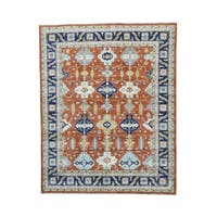 Karajeh Design Hand-knotted Pure Wool Rug (8'1 x 10')