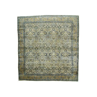 Oversize Antique Persian Kerman Rug (14' x 14'9)