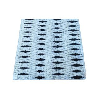 Pure Silk with Oxidized Wool Hand-knotted Rug (1'9 x 2')