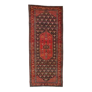 Antique Persian Bidjar Wide Runner Handmade Rug - 6'10 x 16'4