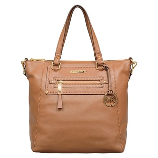 Michael Kors Large Gilmore Luggage Brown Tote Bag