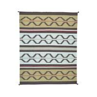 Design Kilim Flatweave Hand-woven Rug (8' x 10'1) - Multi