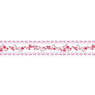 Mini Hearts Deco Roller