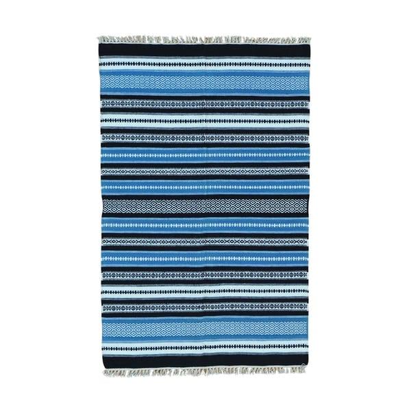 Durie Kilim Striped Flatweave Hand-woven Rug - 3'10 x 6'