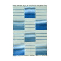 Pure Wool Reversible Durie Kilim Hand-woven Rug (5'8 x 8'5)