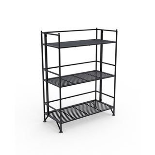 Convenience Concepts Designs 2 Go 8019 3-tier Wide Folding Shelf