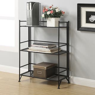 Convenience Concepts Designs 2 Go 8019 3-tier Wide Folding Shelf|https://ak1.ostkcdn.com/images/products/12024650/P18898915.jpg?impolicy=medium