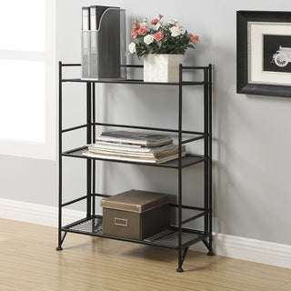 Porch & Den Bywater Ferdinand 3-tier Wide Folding Shelf