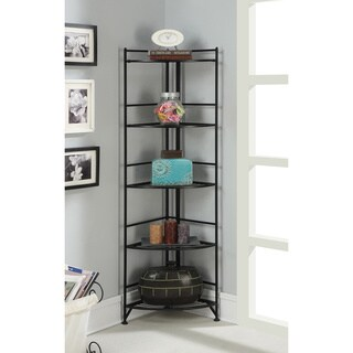 Porch & Den Bywater Ferdinand 5-tier Folding Corner Shelf