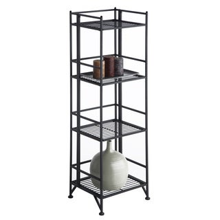 Convenience Concepts Designs2Go 4-tier Folding Metal Shelf