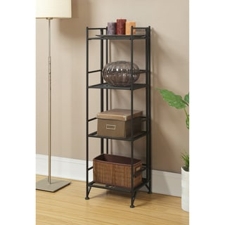 Convenience Concepts Designs2Go 4-tier Folding Metal Shelf