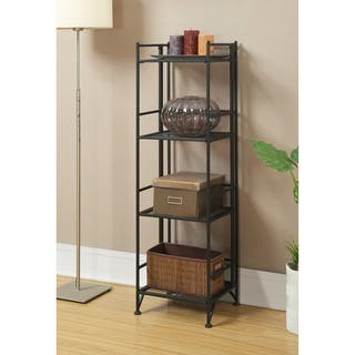 Convenience Concepts Designs2Go 4-tier Folding Metal Shelf|https://ak1.ostkcdn.com/images/products/12024653/P18898918.jpg?impolicy=medium