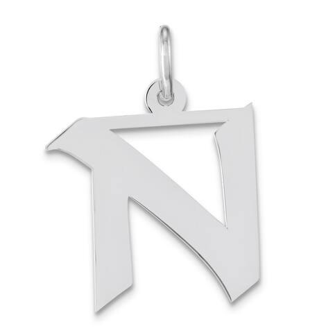 Versil Sterling-silver 18-inch Chain 'N' Charm