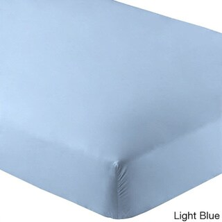 Premium Wrinkle Resistant Microfiber Fitted Sheet
