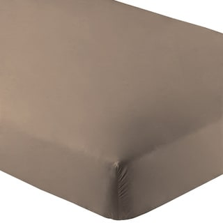 Premium Ultra-Soft Wrinkle Resistant Fitted Sheets (Pack of 2) (Full - Wrinkle Resistant - Taupe)
