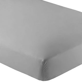 Premium Ultra-Soft Wrinkle Resistant Fitted Sheets (Pack of 2) (King - Wrinkle Resistant - Light Grey)