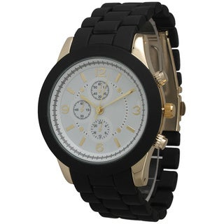 Olivia Pratt Women's Ceramic Style Boyfriend Bracelet Watch (More options available)