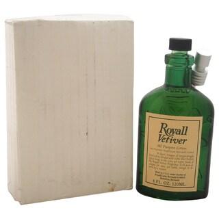 Royall Vetiver Men's 4-ounce Lotion Spray (Tester)