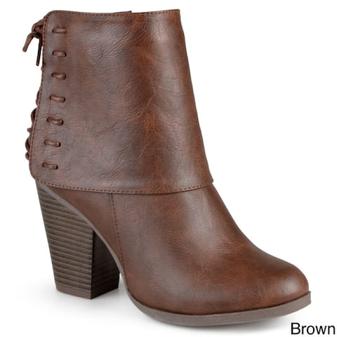 888a8ffa235e Journee Collection Women s  Ayla  Corset Lace High Heel Boots