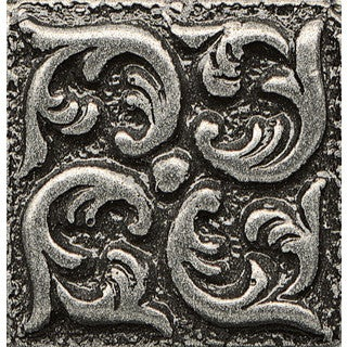 Insert Wave Bronze Metal Resin Tile
