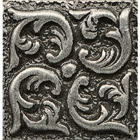 Insert Wave Bronze Metal Resin Tile