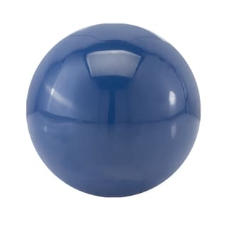 Bola Classic Blue Aluminum 3-inch Decorative Sphere