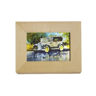 Vintage Model A Sublimated Metal Frame Wall Art