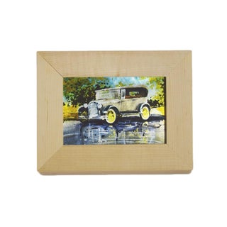 Vintage Model A Sublimated Metal Frame Profession/Commercial Wall Art