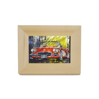 Metal Vintage 1956 Corvette Sublimated Wall Art