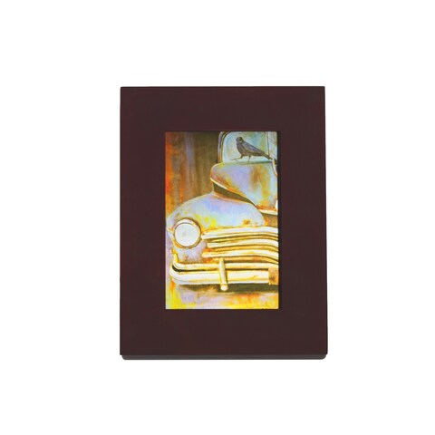 Vintage Pick-up Truck Metal Profession/Commercial Wall Art - Multi