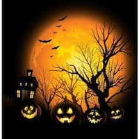 Spooktacular Halloween' Sublimation Metal Profession/Commercial Wall Art