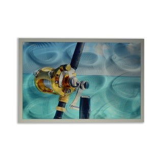 Gone Fishin' Sublimation Aluminum Metal Unframed Wall Art