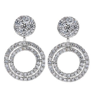 EFFY Final Call 14k White Gold 1 1/10ct TDW Diamond Earrings (H-I,I1-I2)