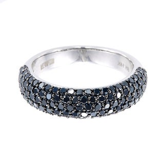 EFFY Final Call 14k White Gold 1 1/4ct TDW Black Diamond Ring