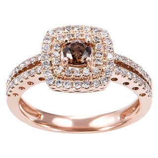 EFFY Final Call 14k Rose Gold Espresso Diamond Ring