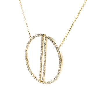 EFFY Final Call 14k Yellow Gold 1ct TDW Diamond Necklace (H-I, I1-I2)