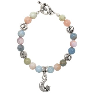 Healing Stones for You Beryl Celestial Bracelet
