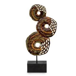 Sorcha Multicolored Metal Figurine