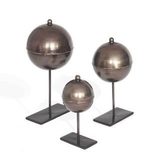 Declan 04-00815 Black Bronze Metal 3-piece Sculpture Set