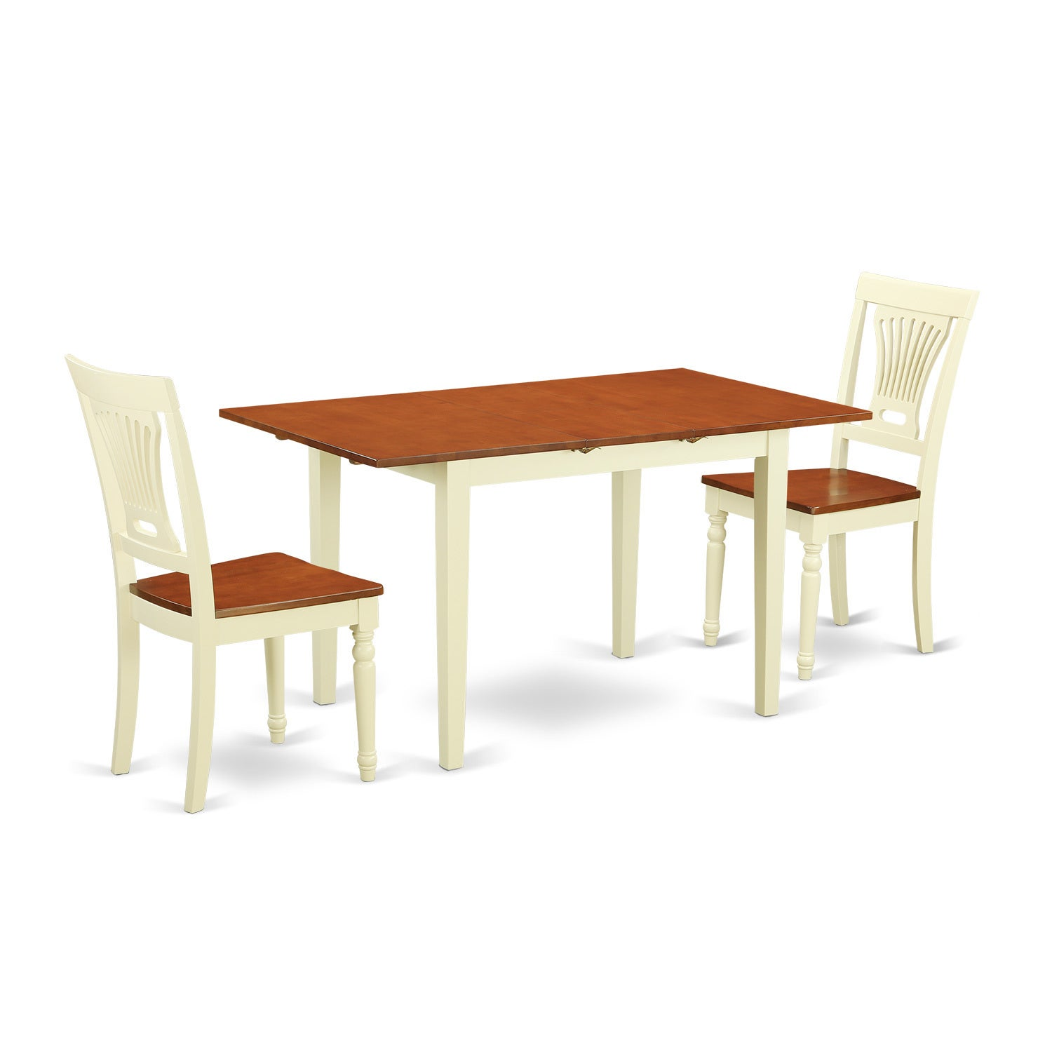 3-piece Kitchen Table Set with Dining Table and 2 Kitchen...
