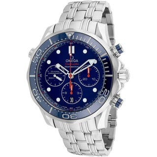 Omega Men's O21230445003001 Seamaster Watch|https://ak1.ostkcdn.com/images/products/12025616/P18899700.jpg?impolicy=medium