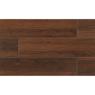 Bedrosians Napa Field Chestnut Porcelain Tiles (Pack of 12 Tiles)