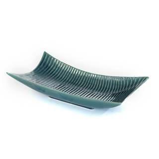 Jayden Teal Ceramic Tray